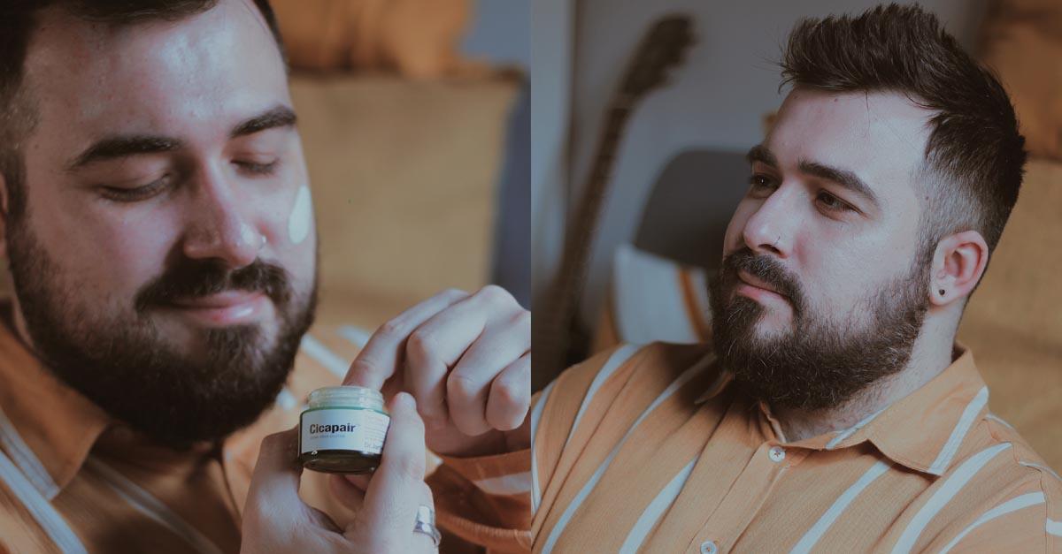 Il trattamento viso Cicapair Tiger Grass di Dr.Jart+ è una crema creata per attenuare gli arrossamenti proteggendo e rinforzando la pelle