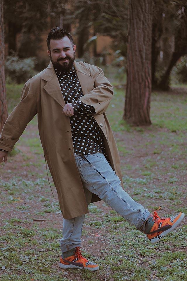trench da uomo, cappotti taglie grandi uomo, plus size men fashion