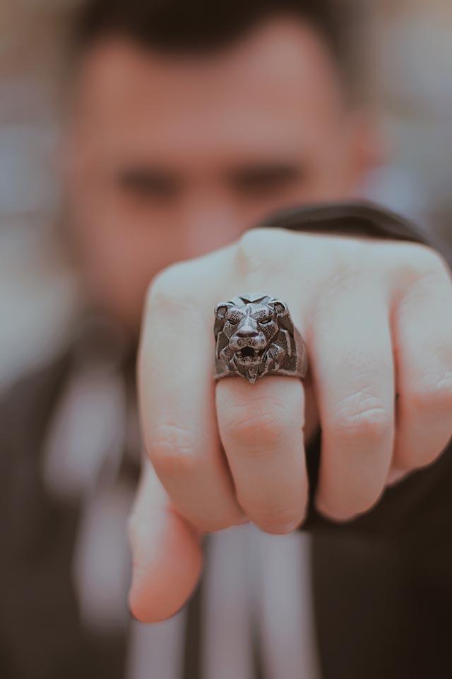 anelli a forma di animali, animal ring, men ring, men jewelry