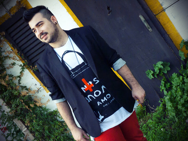 Guy Overboard, Fashion Blogger, Outfit
