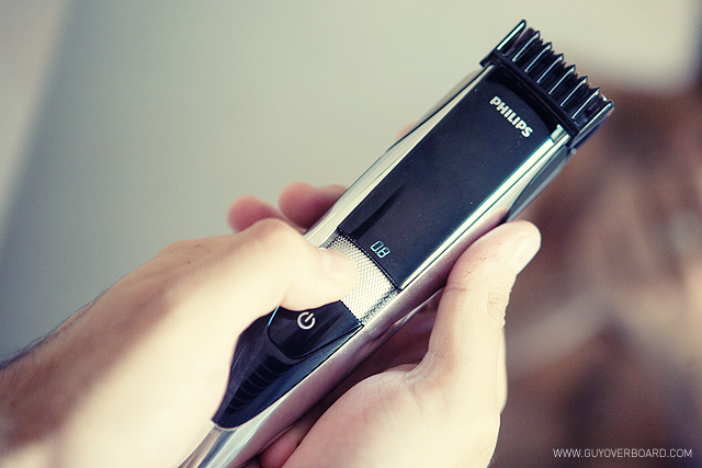 philips, beardtrimmer 9000, waterproof