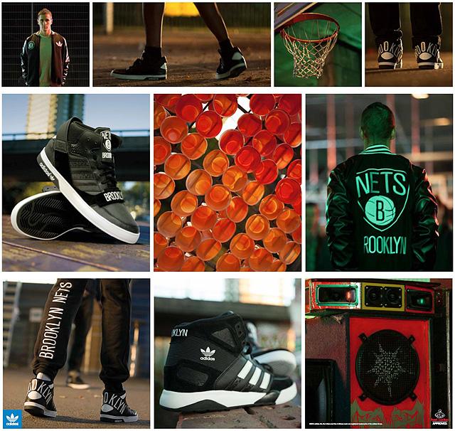 Adidas Originals, Brooklyn Nets, Foot Locker