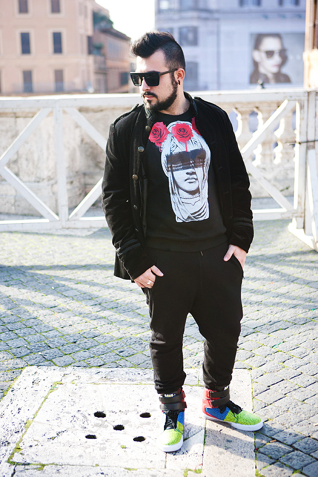 Outfit, Fashion blogger, Tee Trend, Sweatshirt, Guy Overboard