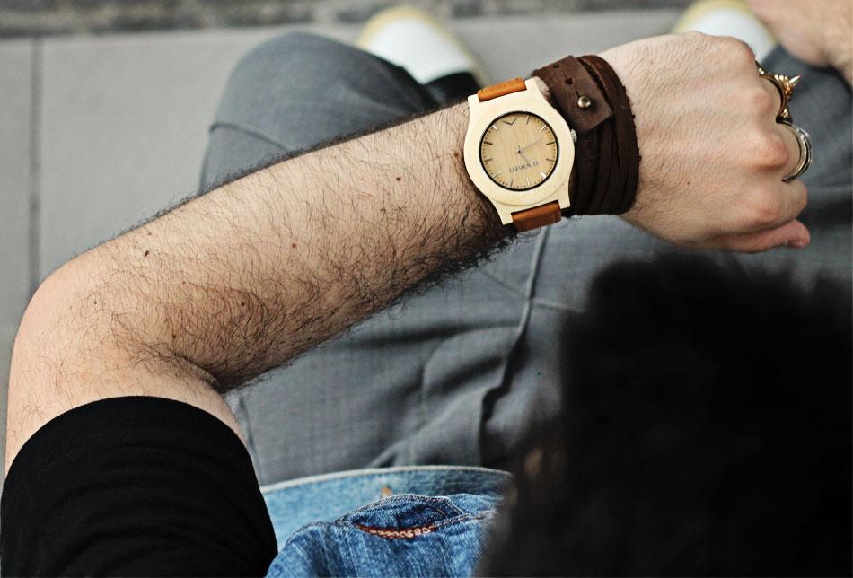guy overboard, fashion blogger uomo, elemento watches, orologio legno, wooden watch, moda sostenibile, treedom, fashion blogger roma