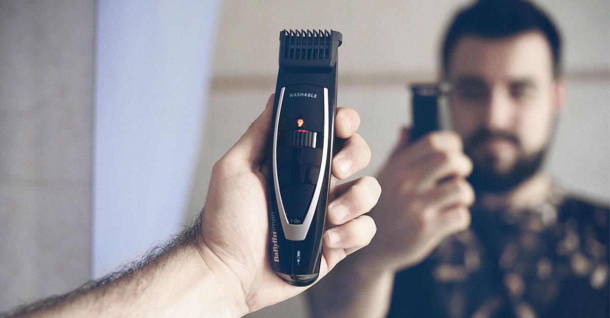 babybliss for men, regolabarba, barbaglio, rasoio elettrico, forma barba, cura barba, guy overboard