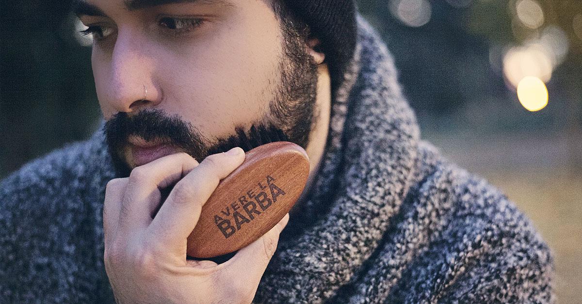 laboratorio avere la barba, shampoo da barba respiro, olio da barba rugiada, spazzola barba anima