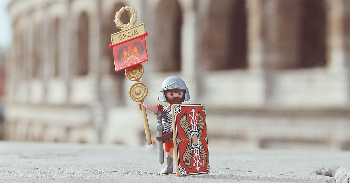 Playmobil lancia la prima esclusiva limited edition dedicata a Roma e all'Italia: da oggi i Legionari viaggeranno in una nuova dimensione