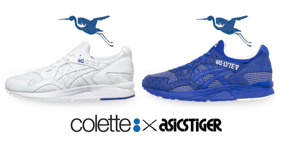 La boutique Colette di Parigi insieme a ASICS Tiger presenta due interpretazioni delle iconiche scarpe GEL-Lyte V con un design ispirato al modello Yukata