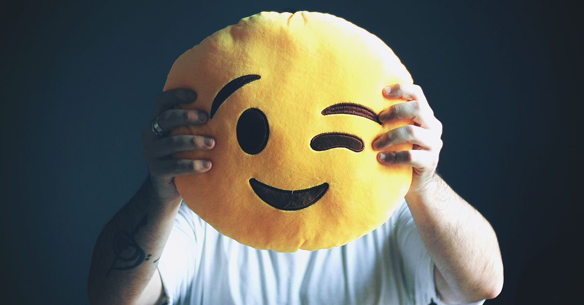 If you constantly use emoticons in messages with an emoji wink pillow plush you will be able to express complicity also in real life