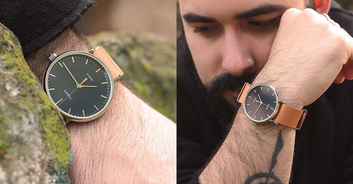 orologio polso uomo timex weekender fairfield, watch timex, plus size men fashion blogger