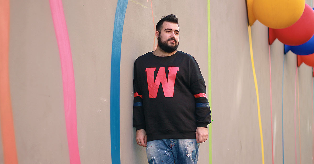 felpa college uomo zaful, plus size male fashion blogger, guy overboard, men outfit