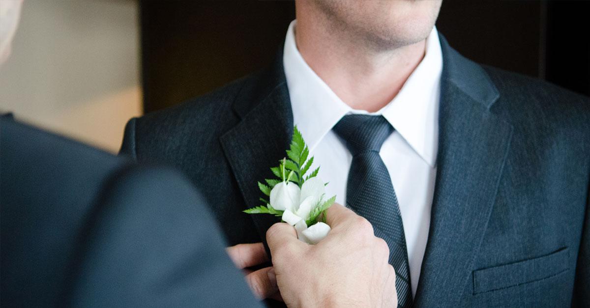 The Gwyn, Man Wedding Suit Tailored