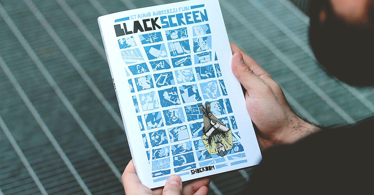 blackscreen graphic novel shockdom
