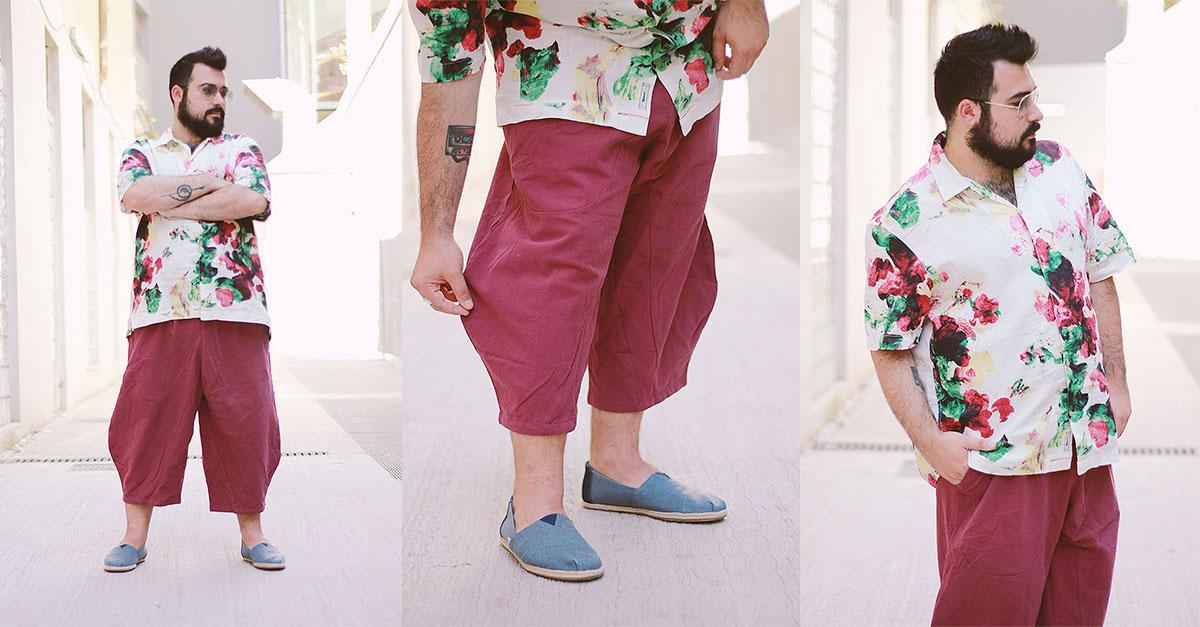 Outfit Plus Size Uomo, Pantaloni alla turca