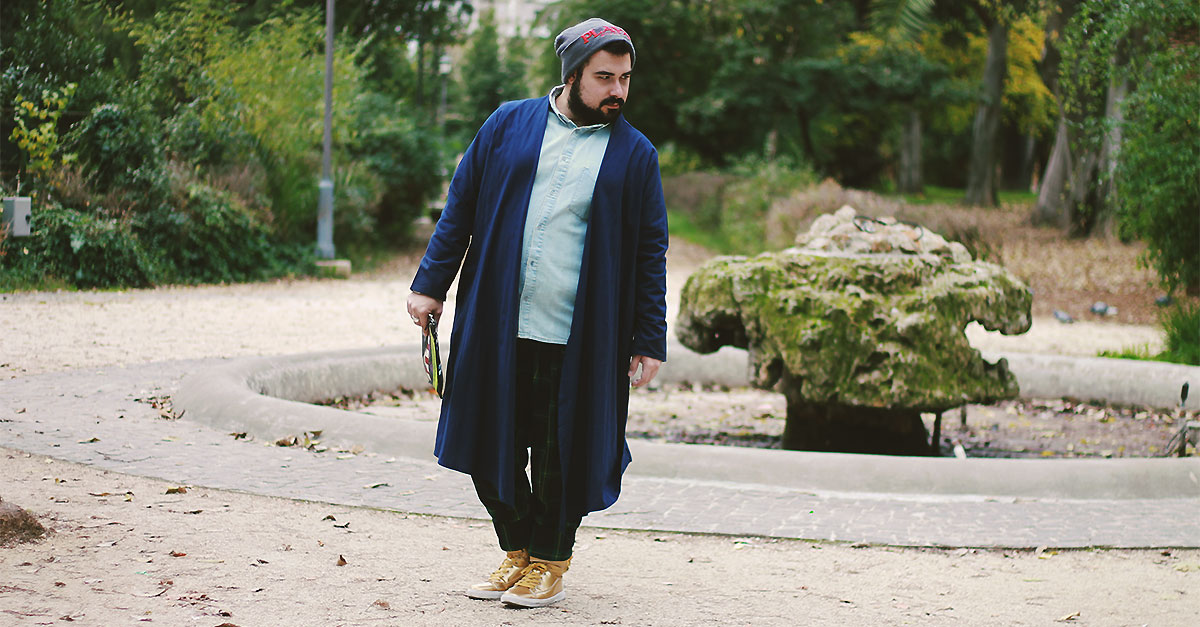 look uomo Natale 2017, outfit plus-size men Christmas