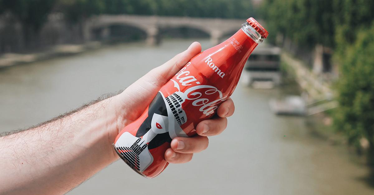 coca-cola, face of the city, roma, noma bar, edizione limitata