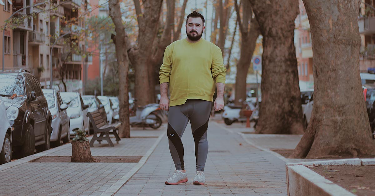Fight the taboo of men's leggings with Matador Meggings: because tight fitting spandex clothes won't make you less man